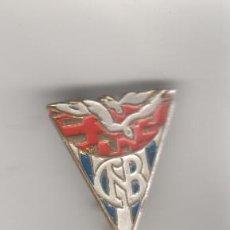 Pins de colección: PIN INSIGNIA DEL CLUB DE NATACION DE BARCELONA . Lote 44857950