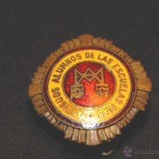 Pins de colección: PIN O INSIGNIA DE OJAL ANTIGUOS ALUMNOS DE LAS ESCUELAS PIAS. Lote 44883858