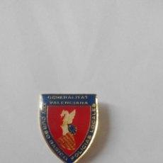Pins de colección: PIN INSIGNIA GENERALITAT VALENCIANA CURSO BASICO POLICIAS LOCALES XXIV GENERALIDAD VALENCIANA.. Lote 44919204