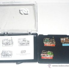 Pins de colección: TRENES - LOTE DE TRES TRENES DE LA GENERALITAT CATALUNYA EN ESTUCHE. Lote 45169868