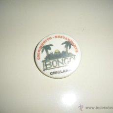 Pins de colección: BONGO CHICLANA CHAPA CON INPERDIBLE NO PINS PIN RETRO VINTAGE . Lote 138910177
