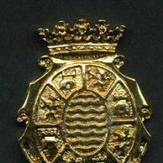 Pins de colección: CHAPA ORO TIPO PIN O COLGANTE DEL ESCUDO DE JEREZ DE LA FRONTERA ( CADIZ ) LEER DESCRIPCION. Lote 154329438