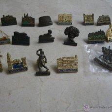 Pins de colección: 17 PINS DE MONUMENTOS ISLAS BALEARES, DE DIARIO DE MALLORCA. Lote 42442783