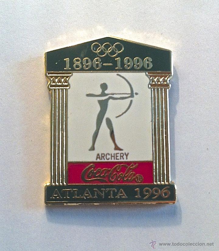 COLECCIÓN 26 PINS OLIMPICOS ESMALTADOS ATLANTA1996-COCACOLA (Coleccionismo - Pins)