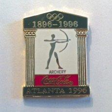 Pins de colección: COLECCIÓN 26 PINS OLIMPICOS ESMALTADOS ATLANTA1996-COCACOLA. Lote 45687852
