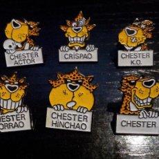 Pins de colección: 6 PINS CHESTER. Lote 46033586