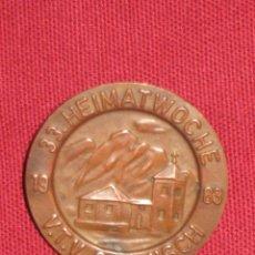 Pins de colección: INSIGNIA DE IMPERDIBLE - 1983 - 33 HEIMATWOCHE - V.T.V. GARMISCH. Lote 46078759