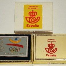 Pins de colección: PIN DEL SERVICIO FILATELICO PRE-OLIMPICA BARCELONA 92. 4 X 3 CM. VER FOTOS.. Lote 46114911