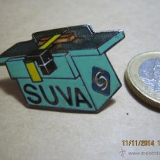 Pins de colección: ORIGINAL PIN DE LA EMPRESA SUIZA SUVA. ENVÍO GRATIS. Lote 46146891