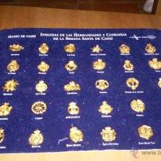 Pins de colección: INSIGNIAS DE LAS HERMANDADES Y COFRADÍAS DE LA SEMANA SANTA DE CÁDIZ.. Lote 46192294