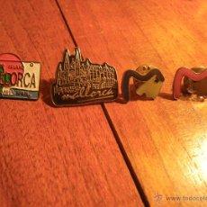 Pins de colección: 4 PINS PROMOCIONALES DE MALLORCA. Lote 46333996