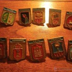 Pins de colección: 9 PINS ESCUDOS MUNICIPIOS DE MALLORCA. Lote 47152609