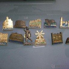 Pins de colección: 11 PINS DE MONUMENTOS DE LAS ISLAS BALEARS, DIARIO DE MALLORCA. Lote 46497800