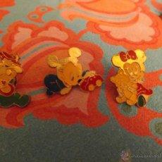 Pins de colección: LOTE 3 PINS BABY DISNEY. Lote 46652349