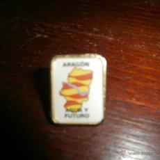 Pins de colección: PIN ARAGON AGUA Y FUTURO. Lote 47179521