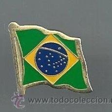 Pins de colección: PIN BANDERA DE BRASIL. Lote 47318189