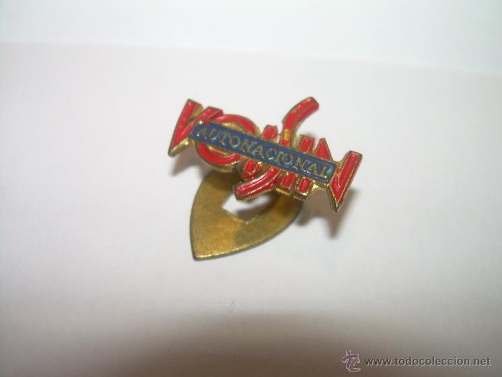 Pins de colección: ANTIGUA INSIGNIA BISCUTER VOISIN AUTONACIONAL. - Foto 2 - 47372042