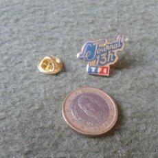 Pins de colección: BONITO Y ESCASO PIN FRANCIA FRANCE TELEVISION FRANCESA TF1 LE JOURNAL 13 H TENGO MAS PINS VER LOTES . Lote 47388062
