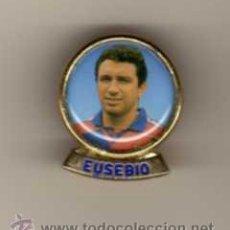 Pins de colección: PIN - JUGADOR EUSEBIO F.C.B. Lote 47421516