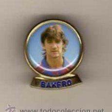 Pins de colección: PIN - JUGADOR BAKERO F.C.B. Lote 47421542