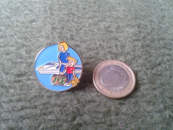 BONITO Y ESCASO PIN FRANCIA FRANCE JVS TREN A IDENTIFICAR TENGO MAS PINS VER LOTES. PARA COLECCION (Coleccionismo - Pins)