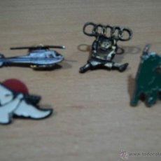 Pins de colección: LOTE DE 4 PINS DIFERENTES. Lote 47515703