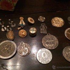 Pins de colección: GRAN VARIEDAD DE PINS Y MEDALLAS/MONEDAS RELIGIOSAS DIFERENTES METALES. Lote 47563784