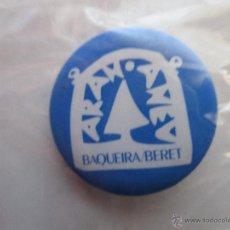 Pins de colección: CHAPA ALFILER - BAQUEIRA BERET. Lote 47660398