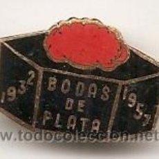 Spille di collezione: INSIGNIA ANTIGUA SIN DETERMINAR. 1957. Lote 47753804
