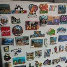 Pins de colección: GRAN COLECCIÓN DE RECUERDOS EN CHAPAS O PING IMANTADOS DEL MUNDO. Lote 98180015