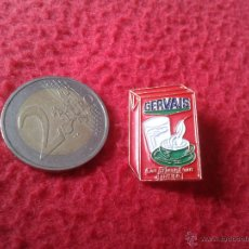 Pins de colección: BONITO Y ESCASO PIN FRANCIA TENGO PINS VER LOTES PARA COLECCION GERVAIS LAIT LECHE UHT . Lote 47829402