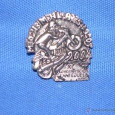 Pins de colección: PIN MOTO - XI CONCENTRACION LANTEJUELA . Lote 47990458