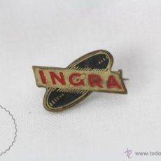 Insignia de Aguja - Publicidad INGRA - Medidas 17 x 10 Mm