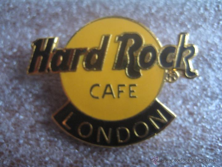 PIN INSIGNIA CON AGUJA HARD ROCK CAFE LONDON (LONDRES) (Coleccionismo - Pins)