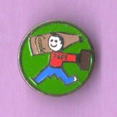 Pins de colección: RARO Y VIEJO PIN - INSIGNIA PUBLICIDAD DE CACAOLAT - ES DE OJAL. Lote 48739043