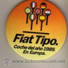Pins de colección: CHAPA CON BROCHE - FIAT TIPO COCHE DEL AÑO 1989 EN EUROPA. Lote 48748018