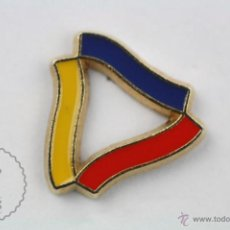 Pins de colección: PIN DE ANDORRA - EMBLEMA DE ANDORRA - MEDIDAS 15 X 12 MM - #PLS. Lote 130313995