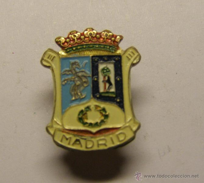 AGUJA DE SOLAPA DE MADRID. (Coleccionismo - Pins)