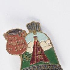 Pins de colección: PIN INSIGNIA DE AGUJA IMPERDIBLE STA. MARIA DE SANS ROMERIA A NURIA. Lote 49227503