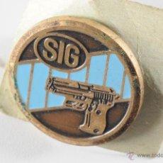 Pins de colección: PIN INSIGNIA DE BOTON AMERICANO SIG. Lote 49227556
