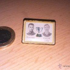 Pins de colección: COLECCION PIN FUTBOL CLUB BARCELONA SAMITIER 1929 CRUYFF 1944 GRANDES JUGADORES DE LA HISTORIA BARÇ. Lote 49272516