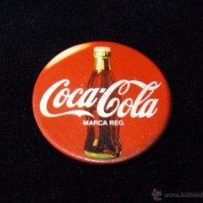 Pins de colección: AGUJA CHAPA COCA COLA 37 MM. AÑOS 80 . Lote 49332171