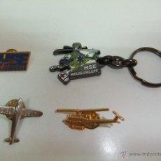 Pins de colección: LOTE DE PINS DE AVION Y HELICOPTEROS.. Lote 49384597