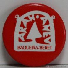 Pins de colección: CHAPA DE AGUJA PINS 25MM BAQUEIRA BERET, CHAPAS. Lote 49431481