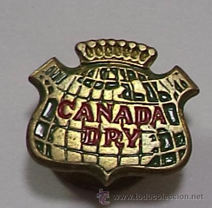 PIN PUBLICITARIO DE SOLAPA. CANADA DRY (Coleccionismo - Pins)