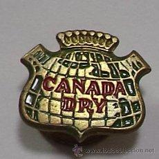 Pins de colección: PIN PUBLICITARIO DE SOLAPA. CANADA DRY. Lote 49648622