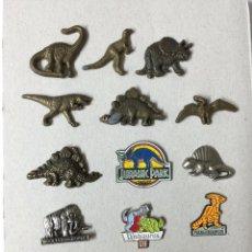 Pins de colección: LOTE DE 14 PINS DE DINOSAURIOS ( PIN - DINOSAURIO). Lote 49667851