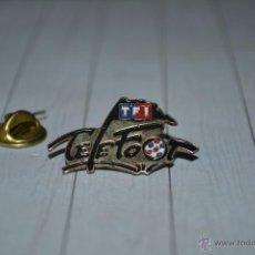 Pins de colección - pin tf1 telefoot tv - 49883183