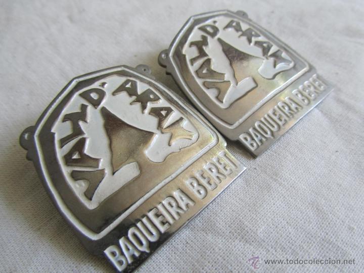 Pins de colección: 2 pins grandes insignia alfiler Baqueira Beret - Foto 2 - 50040442