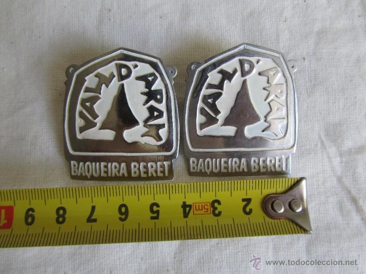 Pins de colección: 2 pins grandes insignia alfiler Baqueira Beret - Foto 5 - 50040442